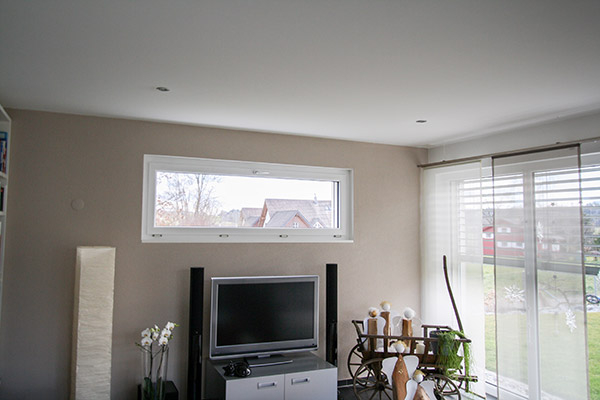 Fenster Einfamilienhaus, Matzingen
